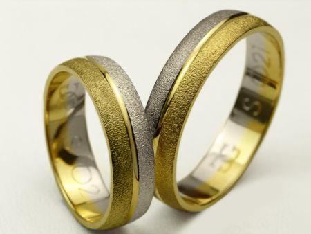 Złote Obrączki pr.585 S021 Jubiler CHORZÓW Goldrun - Mega Rabaty