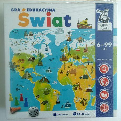 Edukacyjna gra planszowa Świat