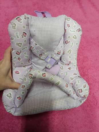 Рюкзак переноска для ляльки