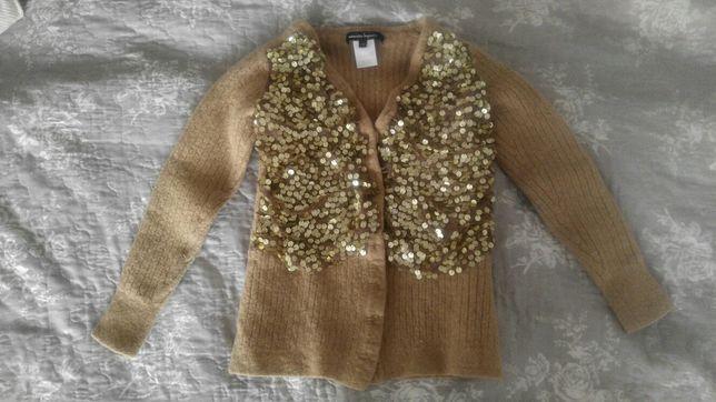 Sweter sweterek cekiny ozdobny 110cm