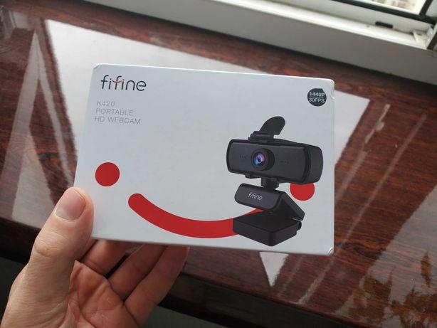 Вебкамера Fifine K420 2K разрешение! 2560*1440p