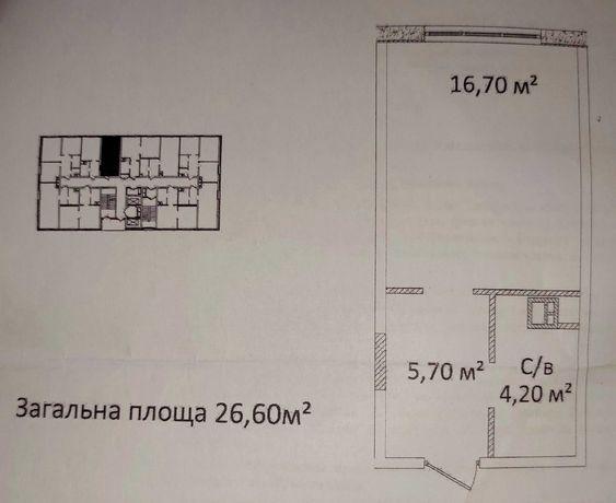 Продам студию в ЖК Литературный. СК Будова