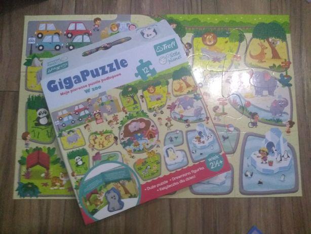 Giga Puzzle dla maluszka