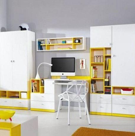 Детская комната стенка3м Шкаф, стол, 2пенала, полка Доставка бесплатно