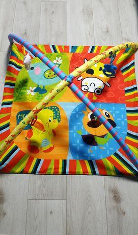 Детский развивающий коврик от 0-6 месяцев
