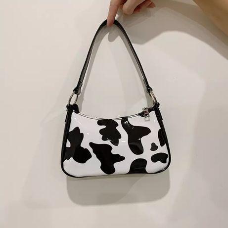 Сумка с коровьим принтом