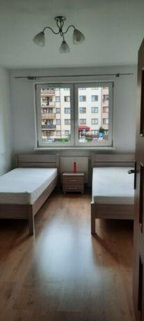 Mieszkanie na podaszu z ładnym widokiem na panoramę Warszawy
