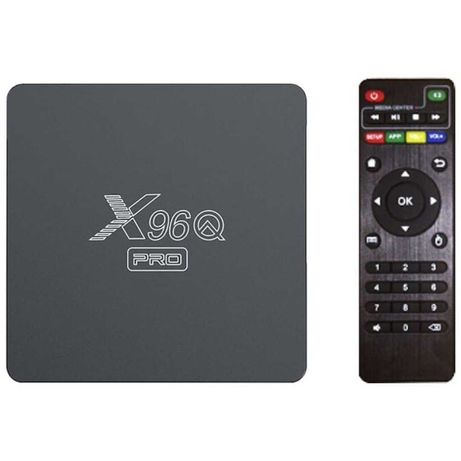 [NOVO] Box Android X96Q PRO H313 2GB/16GB Android 10 - Android TV