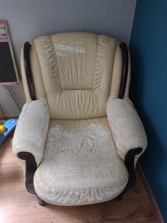 Fotel do renowacji oddam za darmo