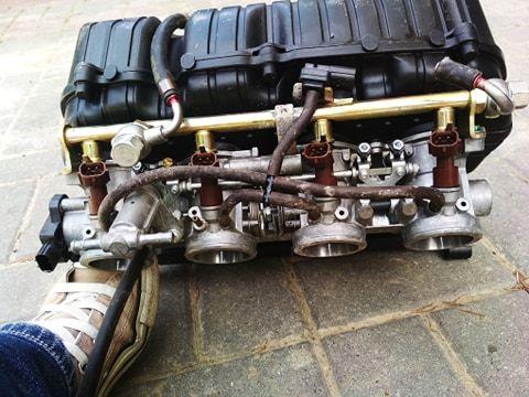 Układ wtryskowy, wtryski, przepustnica Honda CBR 1000 SC57