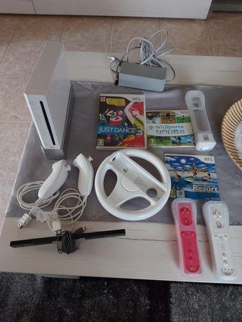 Vendo Wii com jogos