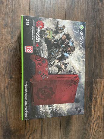 XBOX ONE S 2TB BOX+2 pady+8 gier