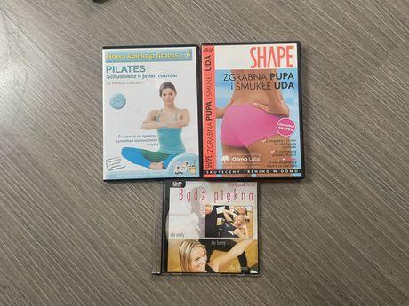Trening Fitness: Shape zgrabna pupa, Pilates, Bądź piękna
