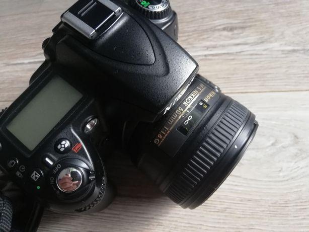 Nikon d90  + obiektyw nikkor 50 1.8