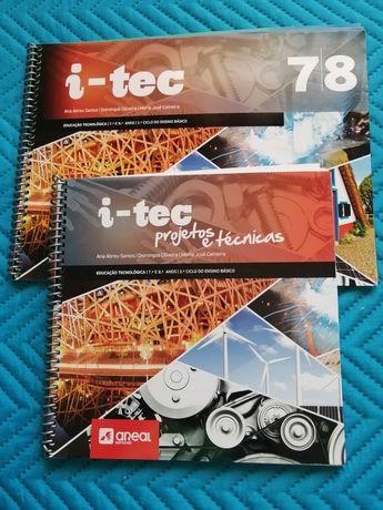 Livros de educação tecnológica de 7°e 8° anos