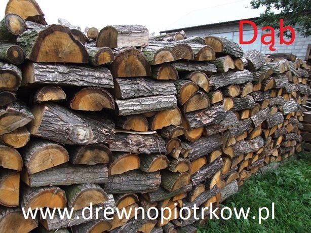 Drewno kominkowe, do kominka, opałowe, DĄB, Łódzkie, Dostawa Gratis
