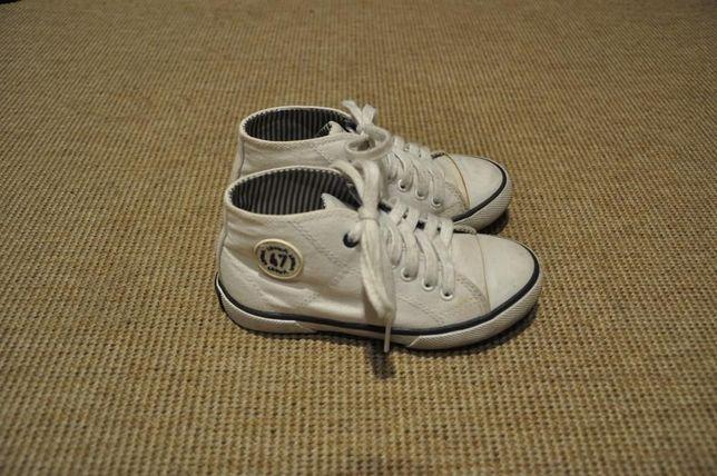 Trampki Little Mary białe rozmiar 27 jak Converse