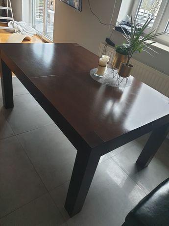 Stół duży fornir 100x160x300