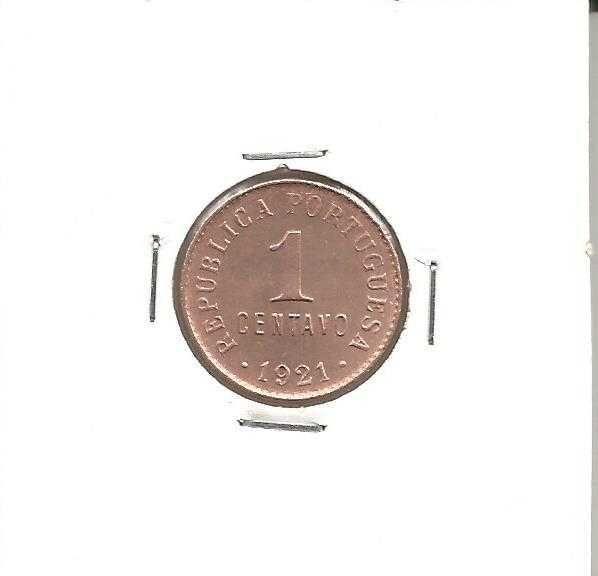 Espadim - Moeda de 1 Centavo de 1920 - Bela