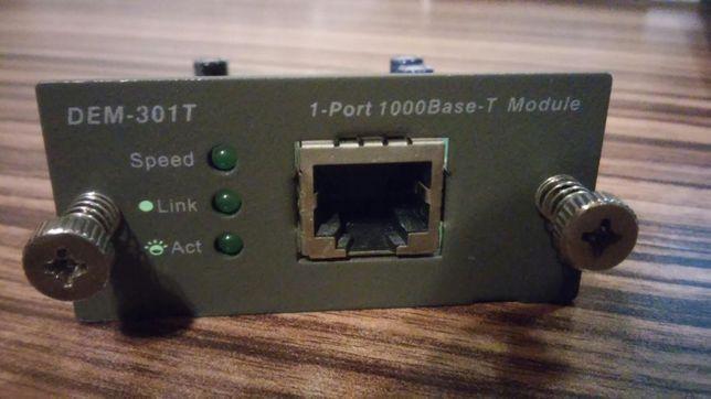 D-Link DEM-301T 1-Port 1000Base-T Module