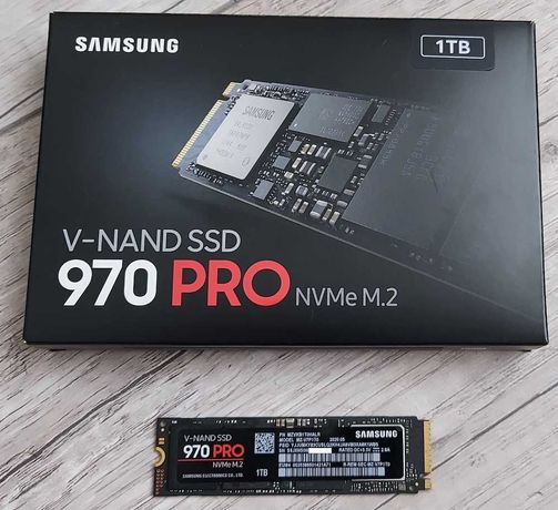 SSD Samsung 970 PRO, 1TB.