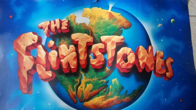 the Flinstones Jaskiniowcy plakat / baner filmowy