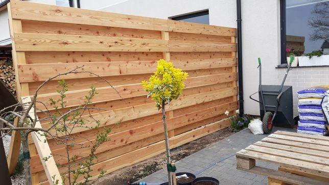 Ogrodzenia płoty pergole wiaty drewniane donice, skrzynie ogrodowe