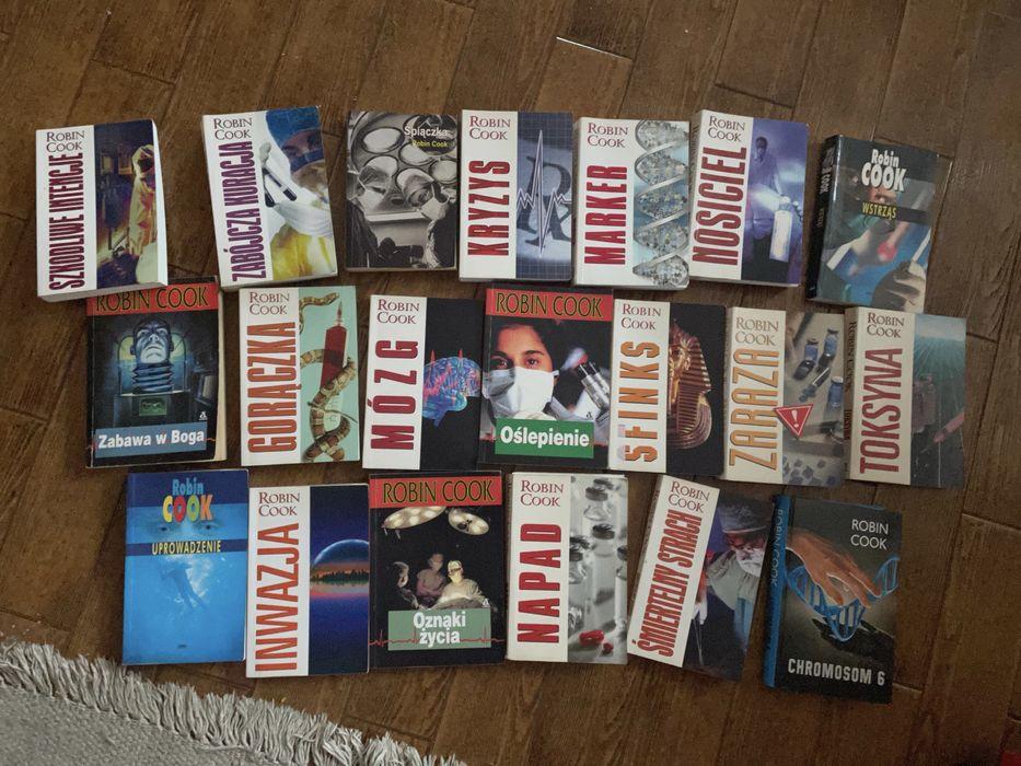Ksiazki Robin Cook 21 ksiazek Nisko - image 1