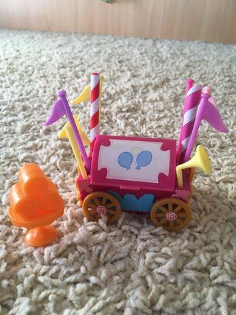 Wózek wózeczek zabawka dla kucyków koninów My Little Pony akcesoria