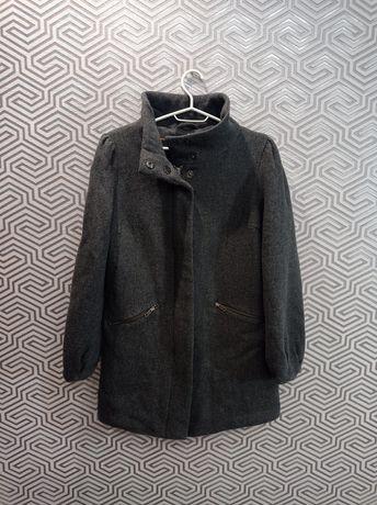 Пальто 80% шерсть H&M