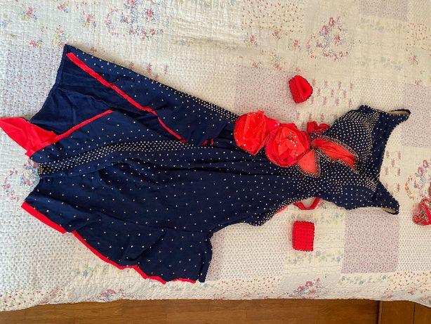 Бальное платье латина турнирное со стразами