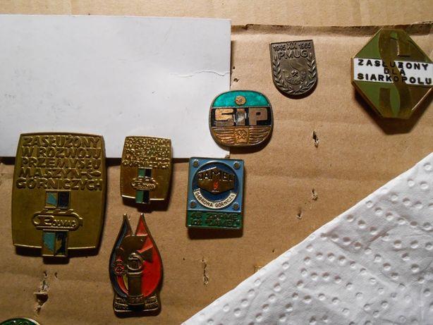 odznaki górnicze