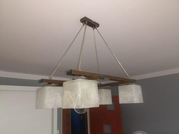 Lampa wisząca do salonu.