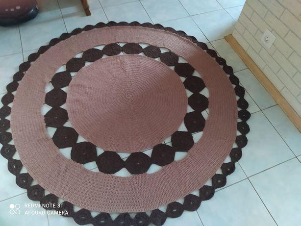 Dywan w stylu Boho ręcznie robiony