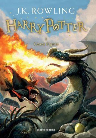 Harry Potter i Czara Ognia - J.K. Rowling - twarda oprawa