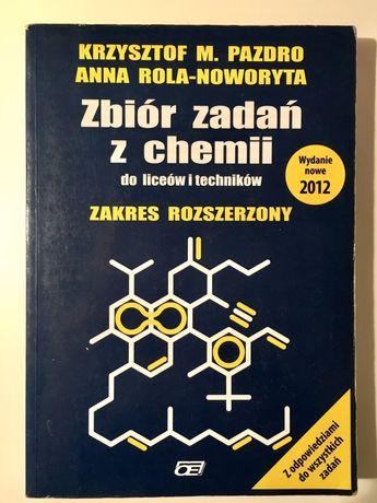 Zbiór zadań z chemii zakres rozszerzony Chemia Matura Pazdro OE