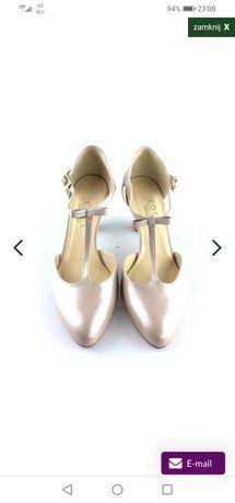 Buty ślubne kotyl roz. 36