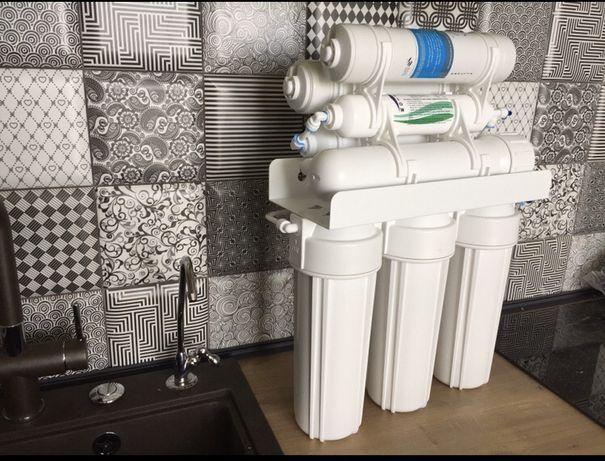 Обратный Осмос.  Фильтр для воды.