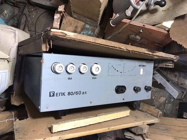 Продам выпрямитель для зарядки батарей ЕПК 80/60 а5