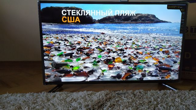 "Телевизор LED 42""изогнут/пр.Smart TV+Т2 Full HD usb Hdmi 46"",50"",56"""