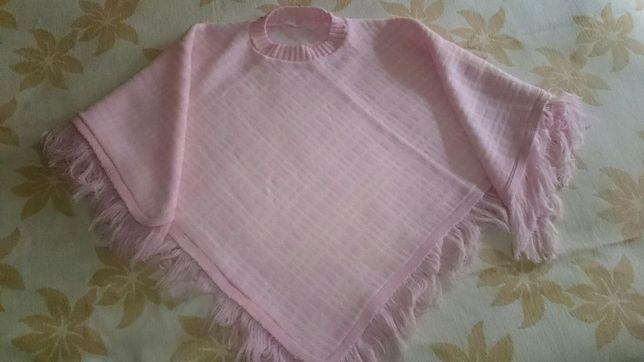 Pouche para criança cor de rosa