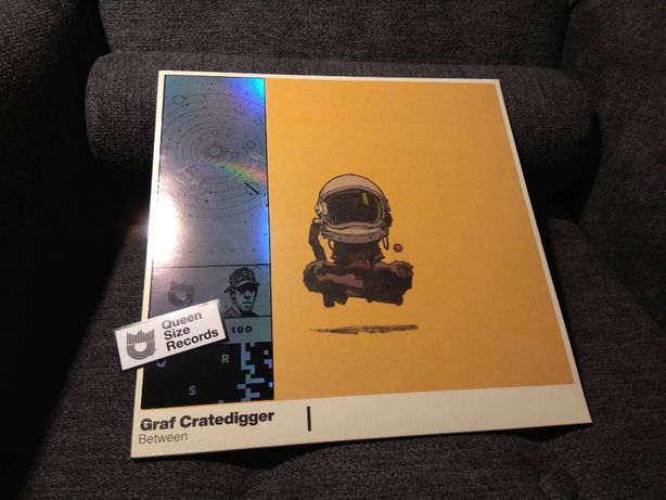 Graf Cratedigger Between Splatter vinyl.
