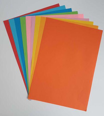 papier ksero ciemnopomarańczowy, format A4, 80g - na sztuki