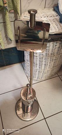 Stojak na papier toaletowy +szczotka do wc