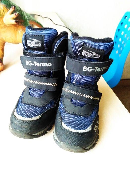 Термоботинки B&G черно-синий, 30р Белая Церковь - изображение 1