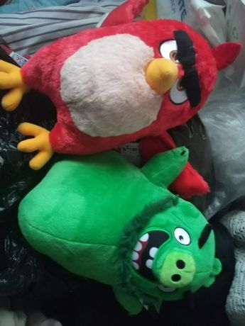 Peluches Angry Birds 2 continente RED e LEONARD