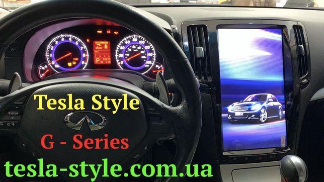 Штатная Магнитола Tesla Style INFINITY G25/G35/G37 2007-2013