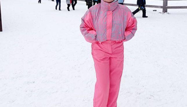 Зимовий лижний костюм комбінезон