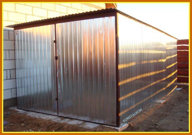 Garaż blaszany 3x5 na samochód dostawa montaż całe wielkopolskie
