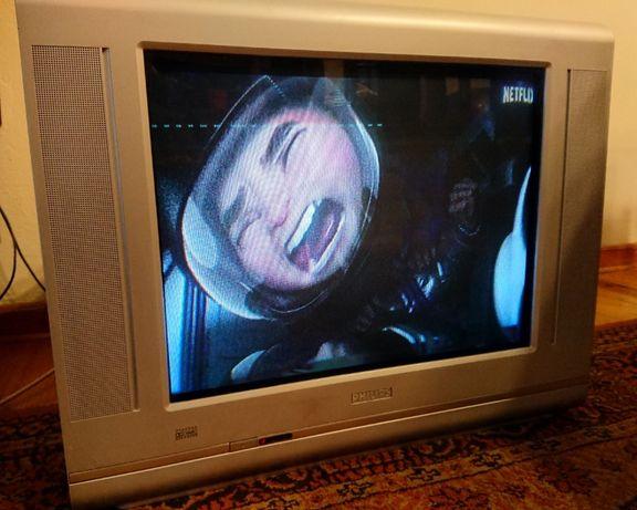 "Telewizor TV Philips 21"" flat"